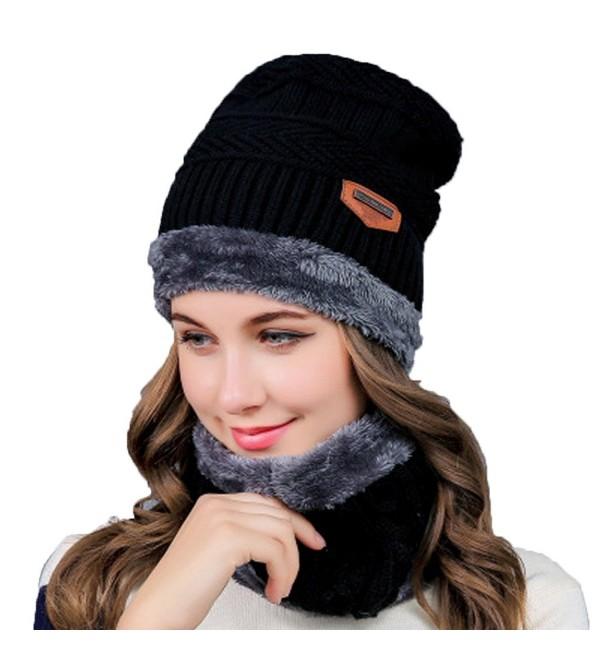 5076316d Womens Slouchy Beanie Winter Hat Knit Warm Chunky Beanie Snow Ski Skull Cap  CN18840XQY2