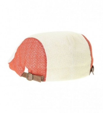 WITHMOONS Summer Neutral LD3050 Orange in Men's Newsboy Caps