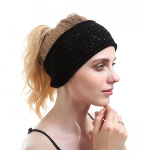 Women Knit Headband Headbands Cashmere in Cold Weather Scarves & Wraps
