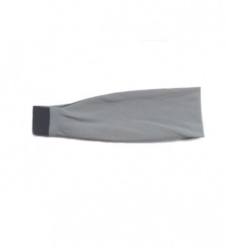 Solid Sport Headbands (available in 12 colors) - Grey - CZ11FTVQ7GD