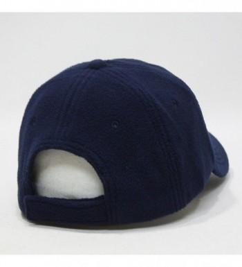 Micro Fleece Low Profile Adjustable Baseball Caps