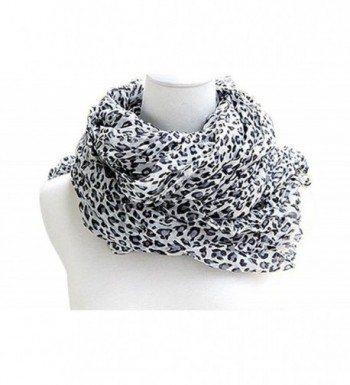 Veenajo Fahionable Women's Leopard Animal Print Scarf wrap Pashmina Soft Shawl - 3 - CC12NGG5Q5G