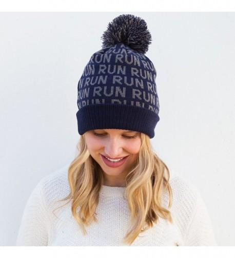 Gone Run Pom Running Hats