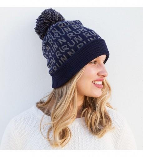 Gone Run Pom Running Hats in Women's Skullies & Beanies