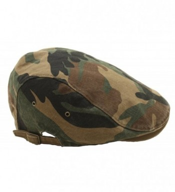 Camouflage Driving Military Patterned Newsboy in Men's Newsboy Caps
