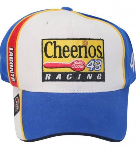 Bobby Labonte 43 Petty Enterprises Cheerios Vintage Racing Adult Adjustable Cap Hat - C312MU17N5X