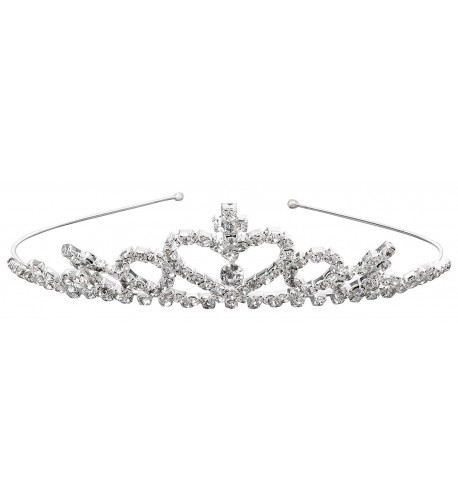 Simplicity Princess Rhinestone Accessories Silver