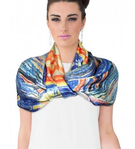 Dahlia Womens 100 Luxury Scarf in Fashion Scarves
