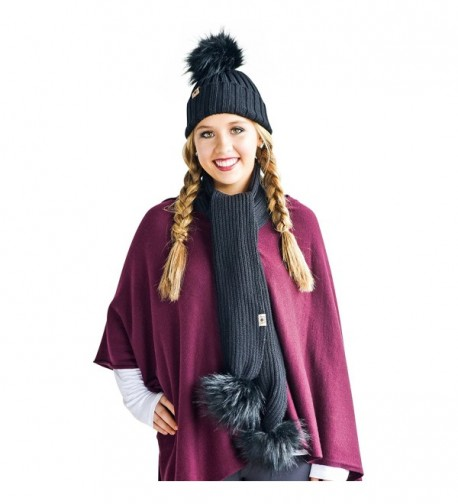 Luxury Classic Occasions Pom Comfortable in Fashion Scarves