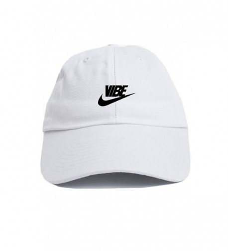 Just Vibe Swoosh White w/ Black Dad Hat - CE12O133QVX