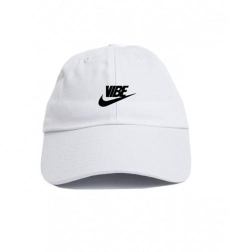 Just Vibe Swoosh White w/ Black Dad Hat - CE12O133QVX