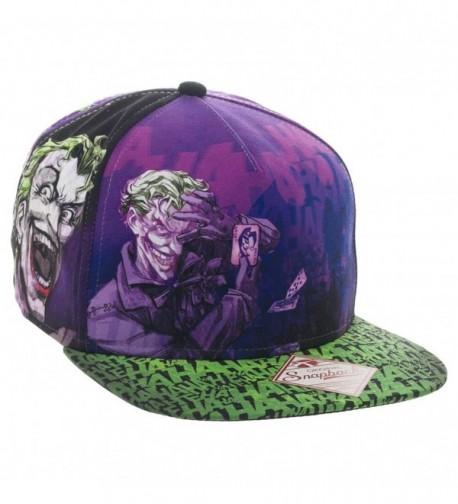DC Joker All-Over Print Trucker Hat - CC12FX7UQH3