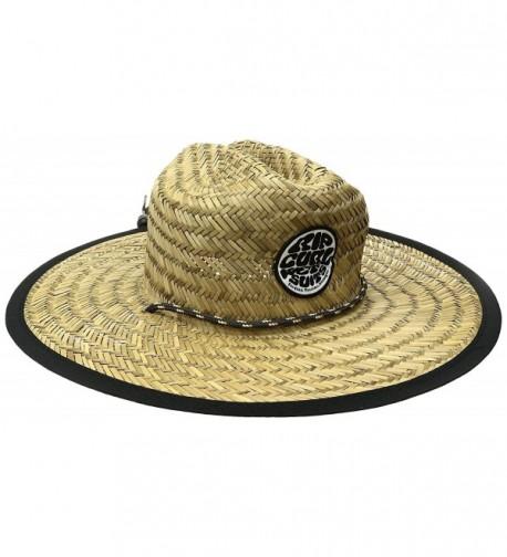 Rip Curl Men's Baywatch Straw Hat - Natural (Nat) - CM12O87ZU2Q