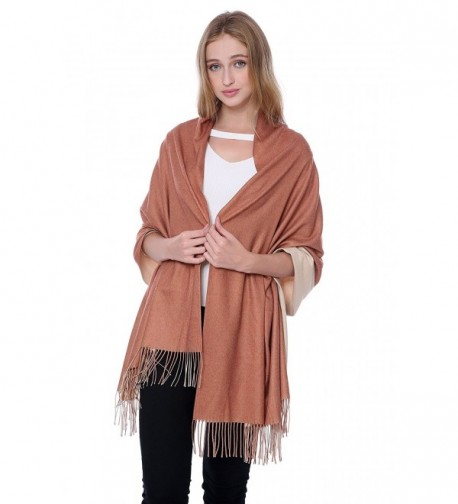 Scarf Reversible JAKY Global Beige in Cold Weather Scarves & Wraps