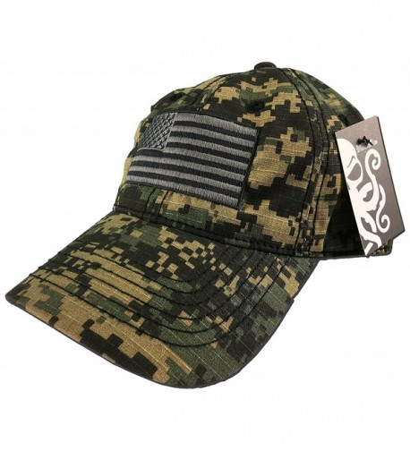Military Digital Camo Hat with subdued black and grey American hat Camouflage - CA12O8ZL8OW