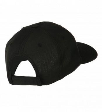 Solid Linen Pro Style Cap in Men's Baseball Caps