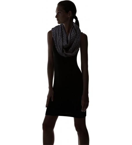 Dearfoams Womens Small Cable Infinity in Fashion Scarves