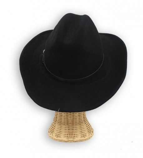 Cheyenne Winter Cowboy Hat Black in Men's Cowboy Hats