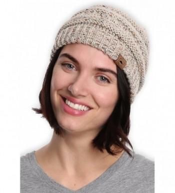Cable Knit Beanie Tough Headwear