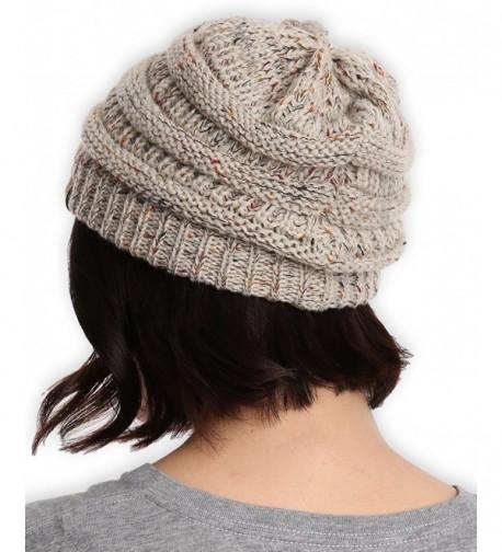 Cable Knit Beanie Tough Headwear in Women's Skullies & Beanies