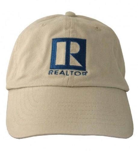 REALTOR Logo Branded Cap - Khaki - C011M09316L