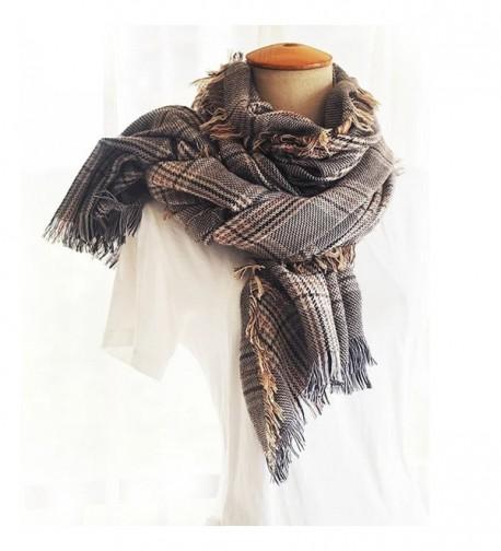 Blanket Tassel Classic Tartan Cashmere