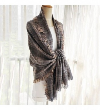 Blanket Tassel Classic Tartan Cashmere in Fashion Scarves