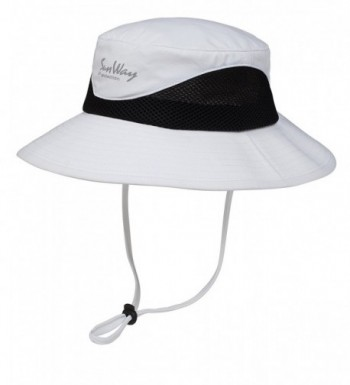 Sunway White UPF 50+ Bucket Hats-Wide Brim Sun Hat (UV Sun Protective) - CO12HMBU2S1