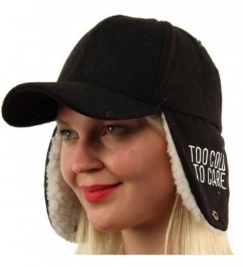 Cover flaps Warmers Baseball Hat in Women's Baseball Caps