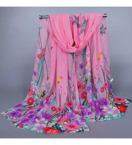Creazy Womens Ladies Chiffon Scarves in Wraps & Pashminas