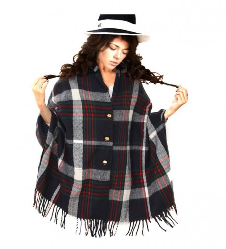 Scarfs Women Shawls Blanket Scarves - Navel Blue - CH189UED6CN