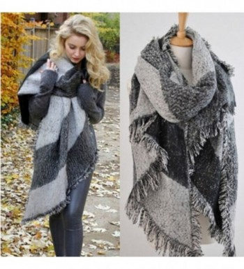 Blanket Cashmere Scarves Checked classic