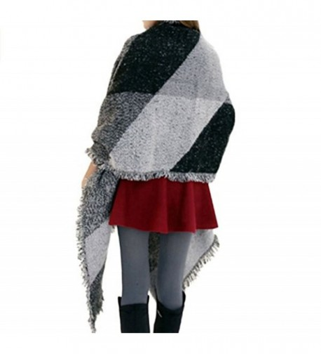 Blanket Cashmere Scarves Checked classic in Fashion Scarves