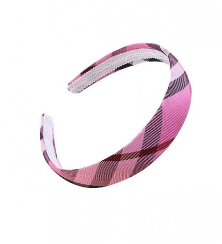 Fashion Plaid Headband women accessories