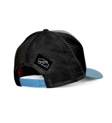f075092b292ab0 Original Yoga Mesh Snapback Trucker Hat- Grey/Black C012E6U5UCJ