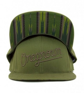 Oregrown Original Snapback - Army Green - C5188E36Q4A