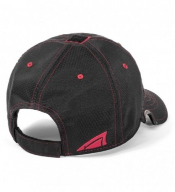 Notch Classic Women's Adjustable Athlete Operator Cap - Black Red - CJ12LCKI19Z