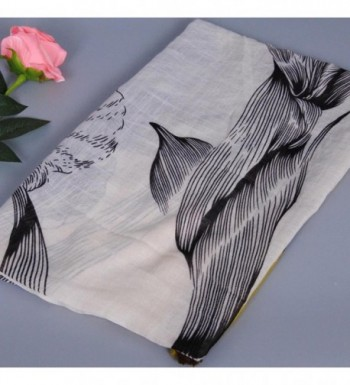 Fashion Printing Tassels Cotton Scarves in Fashion Scarves