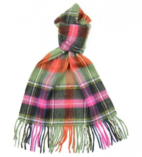 Lambswool Scottish Clan Scarf Bruce Of Kinnaird Ancient Tartan - CL118SCEPB9