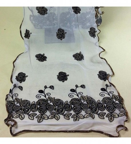 CreazyWomen Vintage Scarf Flower Scarves