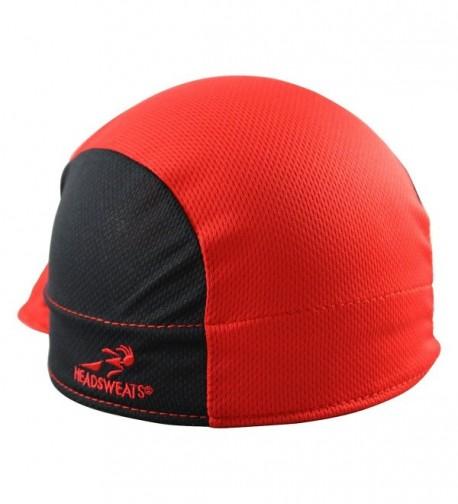 Headsweats Shorty Cycling Cap- Red- One Size - CO11IUKQGC5