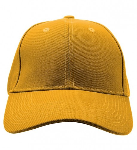 Enimay Baseball Adjustable Outdoor Mustard