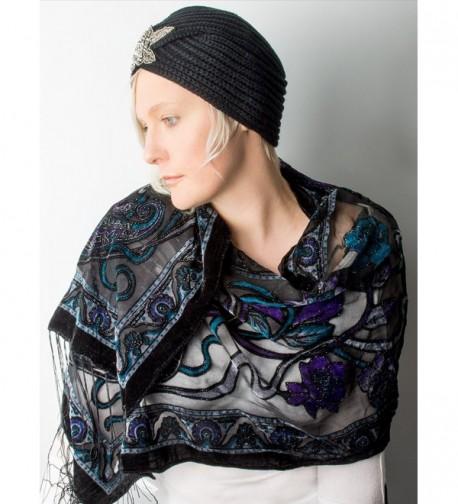 Bohomonde Muriel Nouveau Burnout Amethyst in Fashion Scarves