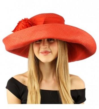 Summer Ribbon Floppy Hat Adjustable