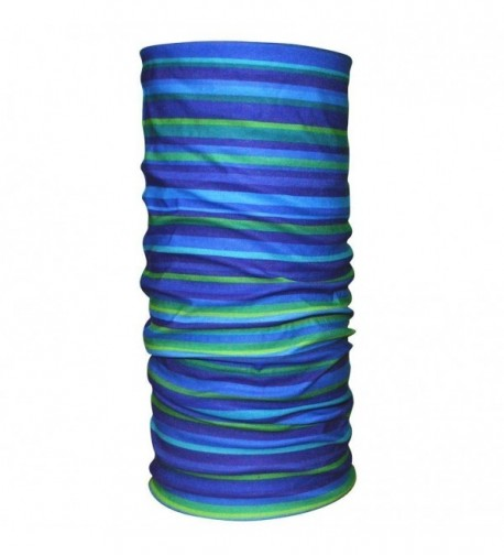 Quick Dry UPF 50+ Anti UV Sports Headbands-Bandana / Balaclava / Neck Gaiter - blue strip - CH11VG38JIR