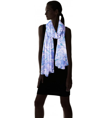 Fiorentina Womens Ikat Printed Scarf in Fashion Scarves