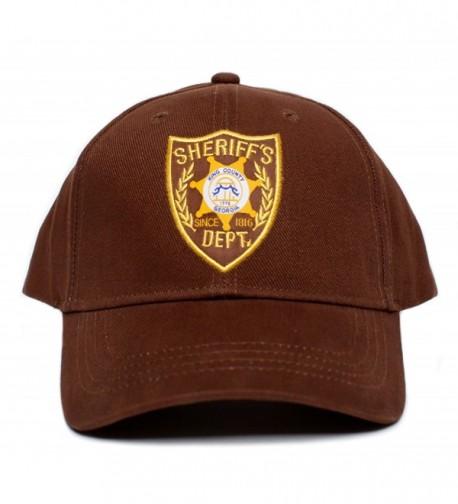 Walking Dead Sheriffs Appliqu%C3%A9 Unisex Adult in Women's Baseball Caps