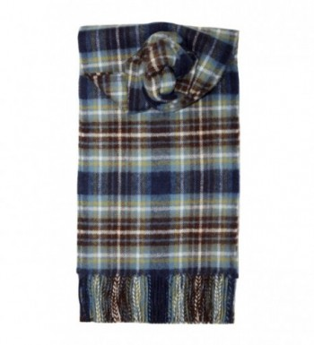 Lochcarron Holyrood Tartan Lambswool Scarf - CW115X2RIT3