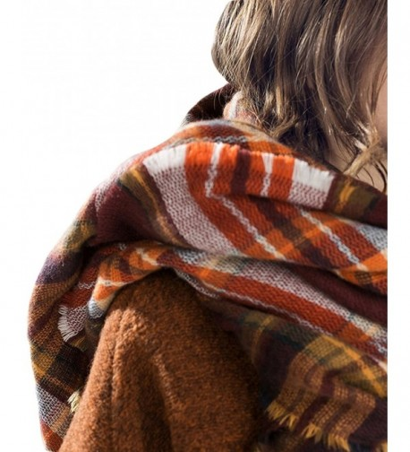 Trendy Blanket Stylish Checked Scarves