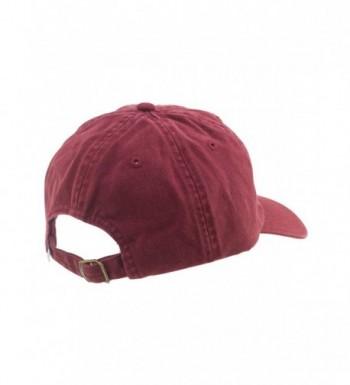 Alternative accessories Dad Size Maroon in Men's Baseball Caps